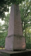 Obelisk Marker for Jefferson's Grave