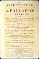 The Architecture of A. Pallidio in Four Books, title page