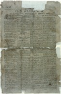 "Callendar, J. T. , essay ""The President""; The recorder [Richmond] Vol. 2, no. 61 (September 1, 1802), page 1"