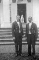 (Monticello, unidentified people)
