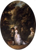 Henry Duke of Cumberland with the Duchess of Cumberland and Lady Elizabeth Luttrell