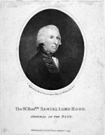 The R;Hon.ble Samuel Lord Hood, Admiral of the Blue