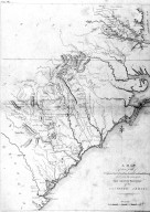 Map, War for Independence, Eutaw Springs