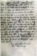 J. Hemings Letter