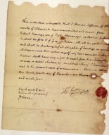 Deed of Manumission for Robert Hemmings
