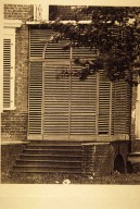 """Monticello, South portico, wrought """"H-L"""" hinges"""
