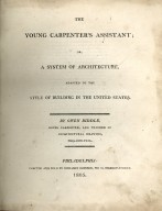 The Young Carpenter's Assistant, title page