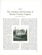 The Gardens and Grounds of Mount Vernon, Virginia