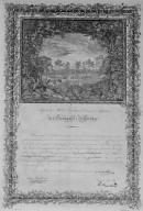 Italian agricultural certificate
