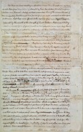 """original Rough draught"" of the Declaration of Independence, page 4"
