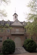 Wren Building, College of William and Mary, Colonial Williamsburg, exterior