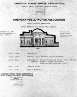 """""""Special Historic Presentation--Thomas Jefferson as a Public Works Official"""""""