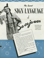 The Secret Sign Language of Sacajawea, cover