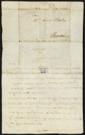 Betsey Anderson to Lucy Meriwether Lewis Marks, 18 May, 1798, verso