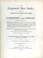 Carpenter's New Guide, title page