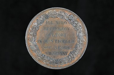 Royal Agricultural and Horticultural Society of Ghent medal, front