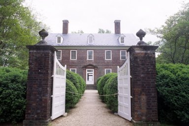 Berkeley Plantation, Charles City County, VA, house, exterior