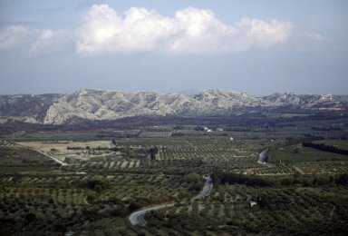Plains of Provence, from Les Beaux