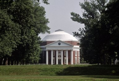 Rotunda, from South Lawn