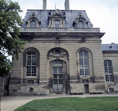 Stables, West Façade, Chantilly