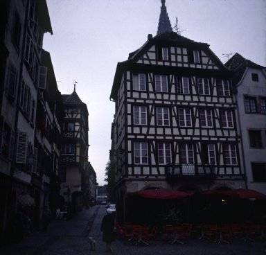 Old house near Cathedral, Strasbourg
