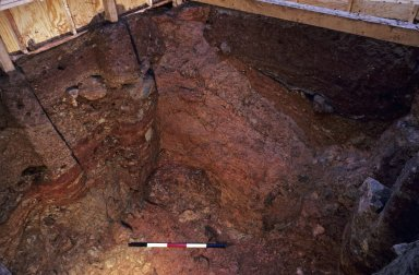 Monticello, Dry Well, excavated