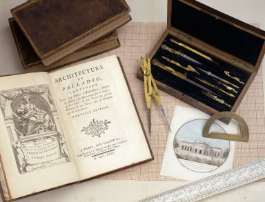 Jefferson's drafting tools and equipment