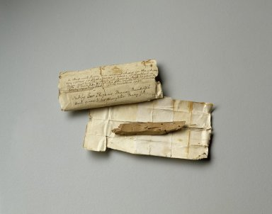 Chair fragment from Shakespeare's house