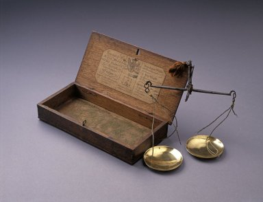 Money scales with case