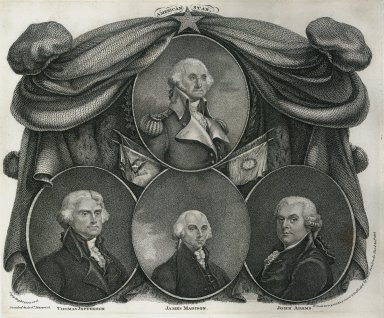 Presidents of the United States: Washington, Adams, Jefferson and Madison