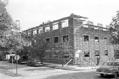 (Charlottesville, unidentified building from R.E. Lee films of Grigg era restoration)