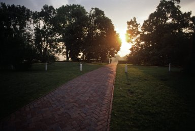Monticello, East Lawn