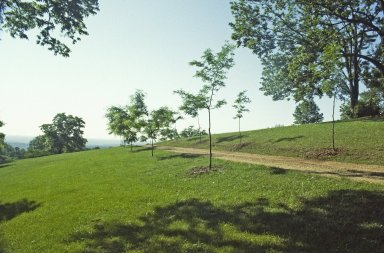 Monticello, first roundabout