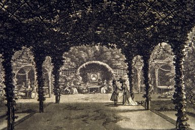 Arbor and alcoves of Chantilly, Merigot
