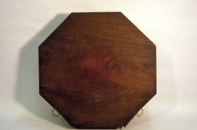 Monticello, rent table, top, restored