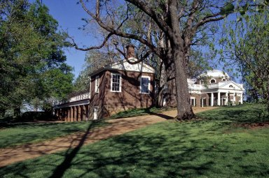 Monticello, North Pavilion, North dependencies and West Front