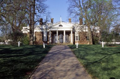 Monticello, East Front