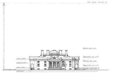 Monticello East Front