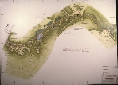 Architectural rendering of plan for the Parkway, reiley and assoc?