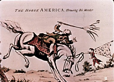 The Horse America Throwing His Master