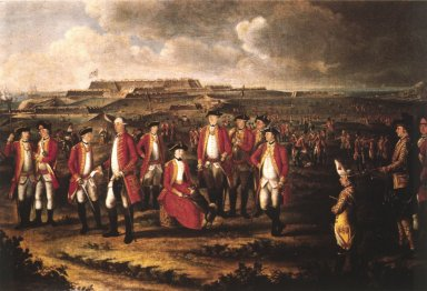25th Regiment of Foot, Minorca 1770, Lady Lennox wife of Col. George