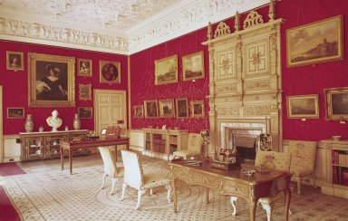 Audley End, Essex, Lord Braybrooke's Sitting Room