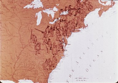 Map, Peoples of America