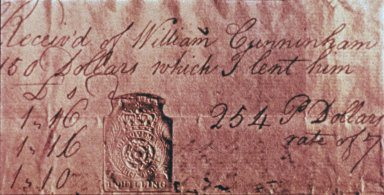 Stamp Tax, on Document