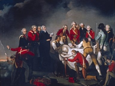 Burial of General Simon Fraser