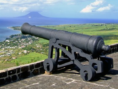 St. Eustatius from Brimstone Hill