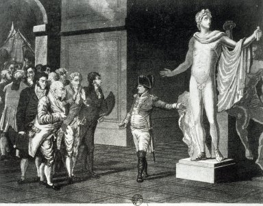 Napoleon showing Apollo
