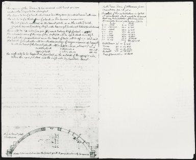 Monticello, remodeling notes, pages 6 and 7 of 16