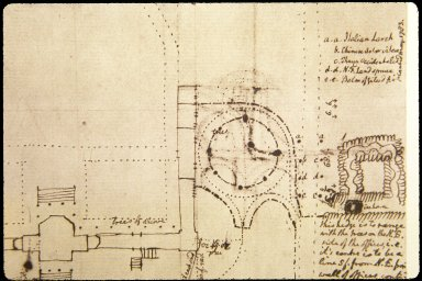 Monticello, Site Plan