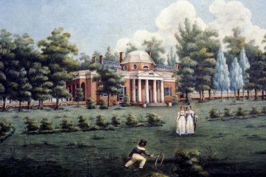 Monticello, West Front